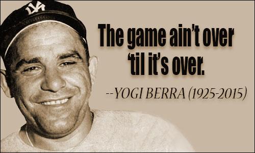 Yogi Berra - DOJ suing to stop Sprint Merger - NWIDA